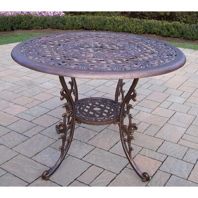 Mississippi Dining Table Finish: Antique Bronze