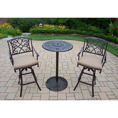 Grace 3 Piece Bar Set with Cushions