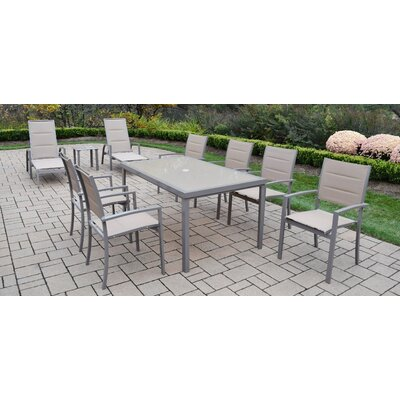 Padded Sling Dining Set - Product photo