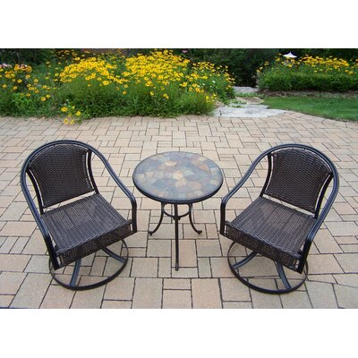 Stone Art Tuscany 3 Piece Bistro Set