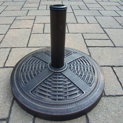 Rust-Free Basket Weave Multi-use Umbrella Stand