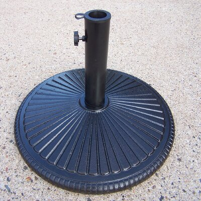 Heavy Duty Cast Iron Multi-use Umbrella Stand Color: Black