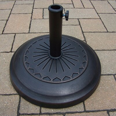 Cast Polyresin Free-Standing Umbrella Base