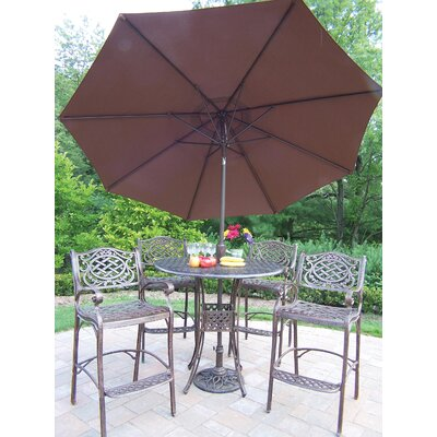 Wonderful Bar Dining Set Umbrella Product Photo