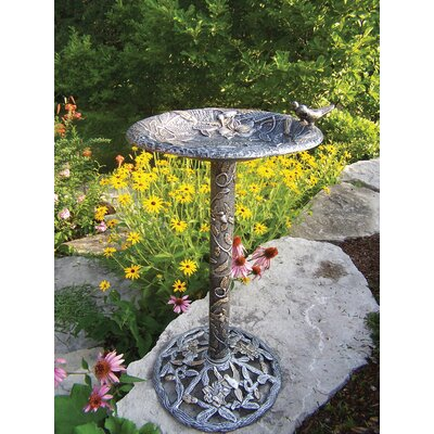Oakland Living Hummingbird Bird Bath - Finish: Antique Pewter at Sears.com
