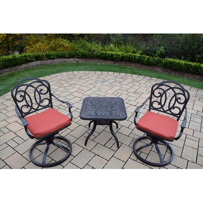 Berkley 3 Piece Dining Set with Cushion