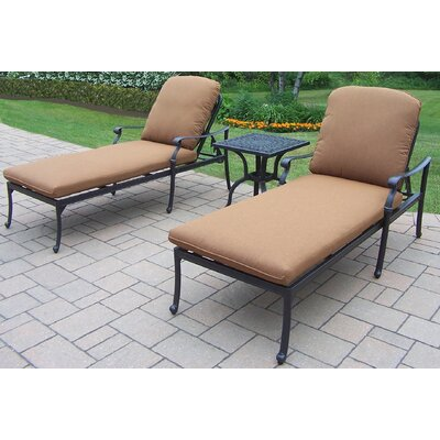 Bosch 3-Piece Chaise Lounge Set