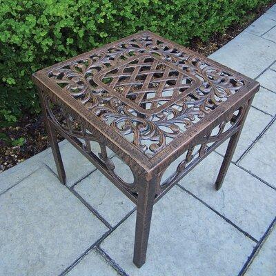 Mississippi Side Table Finish: Antique Bronze