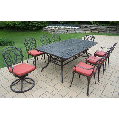 Berkley 9 Piece Dining Set with Cushions