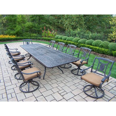 Victoria 11 Piece Dining Set with Cushions