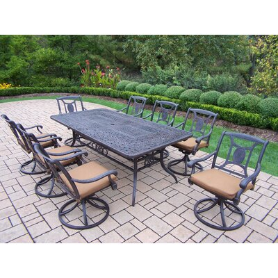 Victoria 9 Piece Dining Set with Cushions