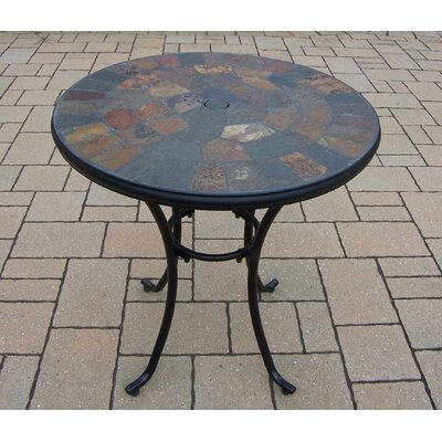 Stone Art Bistro Table Finish: Coffee