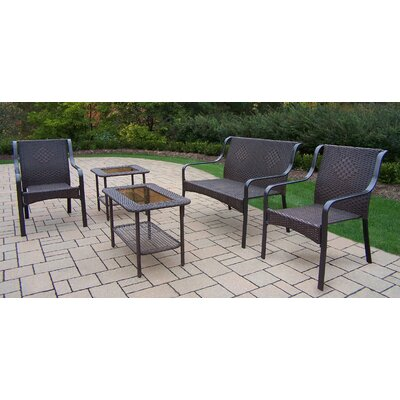 Tuscany 5 Piece Deep Seating Group