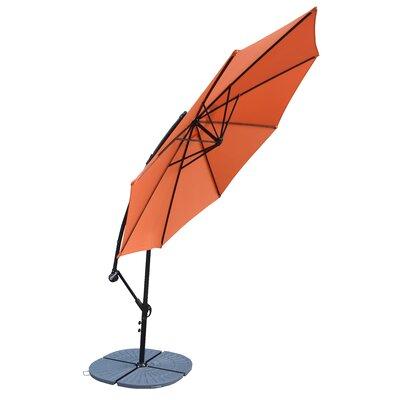 10 Cantilever Umbrella Frame Finish: Gray