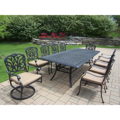 Bosch 102 x 46 11pc Dining Set with Cushions