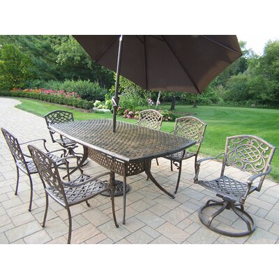 Oakland Living Oxford Mississippi 9 Piece Dining Set at Sears.com