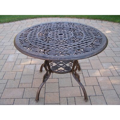 Tea Rose Dining Table Finish: Antique Bronze