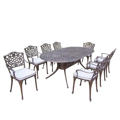 Mississippi 9 Piece Dining Set Cushion: With