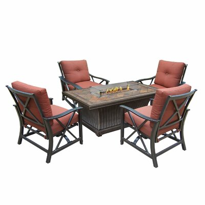 Hearthstone 8 Piece Conversation Set with Cushions