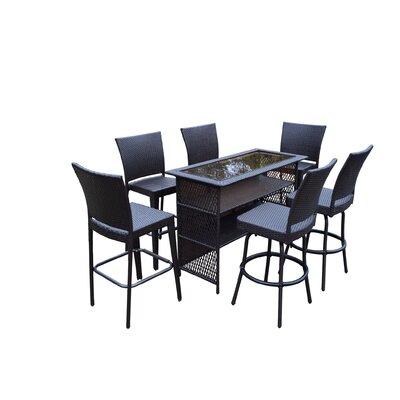 Buy All Weather Resin Wicker Bar Set Parishville - Product image - 22