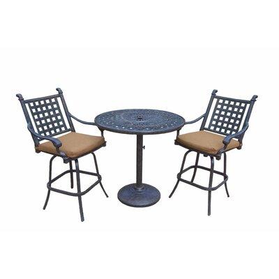 Arness 6 Piece Bar Set and Lounge Set