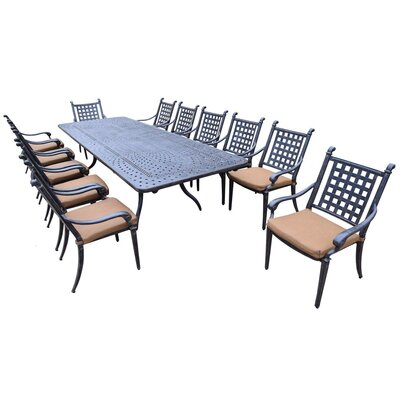 Arness 16 Piece Dining Set and Bar Set