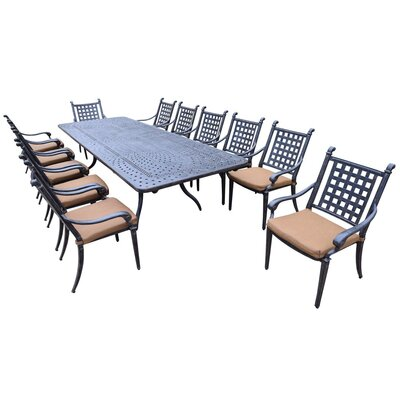 Arness 16 Piece Dining Set and Lounge Set