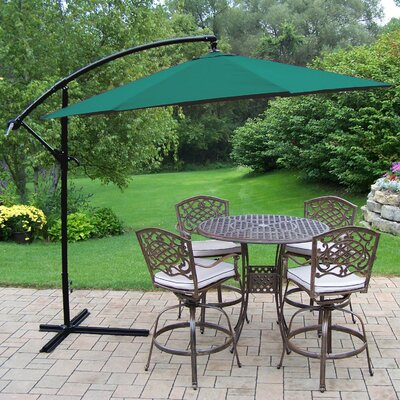 Purchase Elite Mississippi Bar Height Dining Set Cushions Umbrella - Image - 344