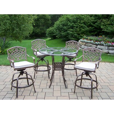 Hummingbird Mississippi 5-Piece Swivel Bar Set