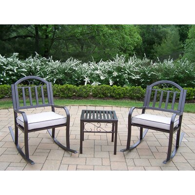 Rochester 3 Piece Rocker Set With Cushions
