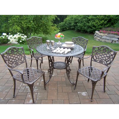 Mississippi 5 Piece Semi Dining Set