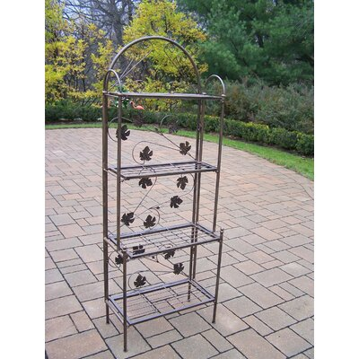 Sun Valley Bakers Rack Finish: Antique Bronze