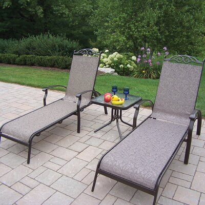 Oakland Living Cascade 3 Piece Lounge Seating Group at Sears.com