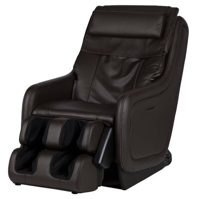 ZeroG� 5.0 SofHyde Heated Massage Chair Upholstery: Espresso