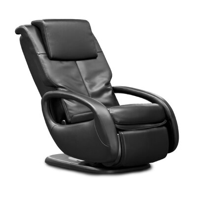 WholeBody� 7.1 Faux Leather Heated Massage Chair Upholstery: Black