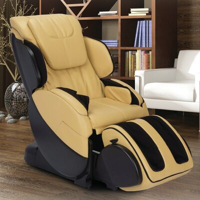 Bali AcuTouch 8.0 Physical Therapy Robotic Massage Chair Color: Butter