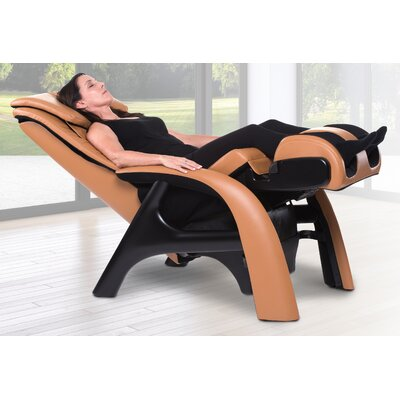 Volito Zero Gravity Massage Chair Upholstery: Orange