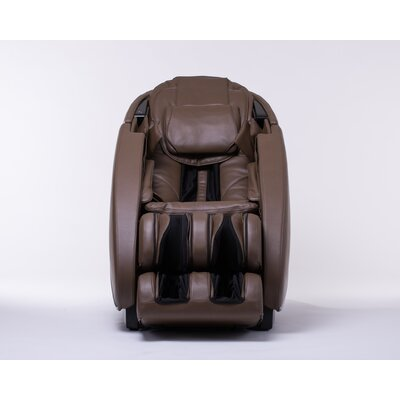 NovoXT Zero Gravity Massage Chair Upholstery: Espresso