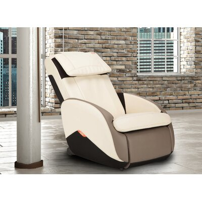 iJoy Active�2.0 Perfect Fit Reclining Massage Chair Upholstery: Bone