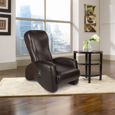 iJoy-2310 Recline & Relax Robotic Massage Chair Upholstery: Espresso, SofHyde/Sofsuede