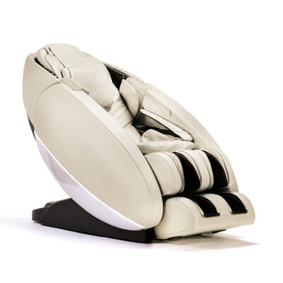 NovoXT Zero Gravity Massage Chair Upholstery: Cream