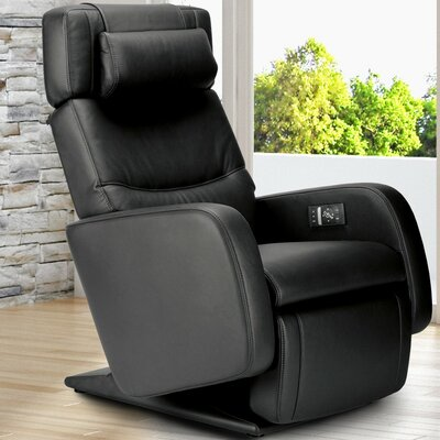 Zero-Gravity Leather Recliner Color: Oscuro