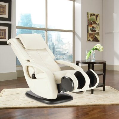 WholeBody 7.1 Faux Leather Heated Massage Chair Upholstery: Bone