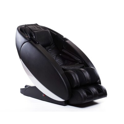 NovoXT Zero Gravity Massage Chair Upholstery: Black