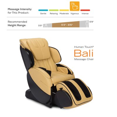 Bali AcuTouch 8.0 Physical Therapy Robotic Massage Chair Color: Red