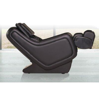 ZeroG 3.0 Leather Zero Gravity Massage Chair Upholstery: Espresso