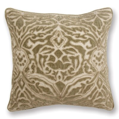 Rive Gauche Serena Throw Pillow Color: Dark Tan