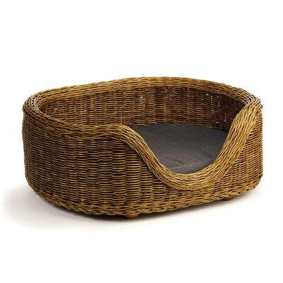 Burma Rattan Bolster Dog Bed Size: Small (23 W x 25.5 D)
