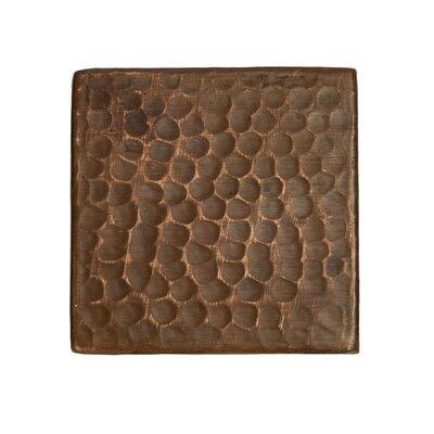 Surface 3 x 3 Metal FieldTile in Oil Rubbed Bronze