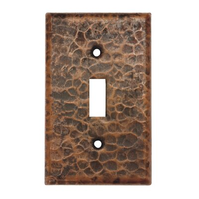 Copper Single Toggle Switch Cover